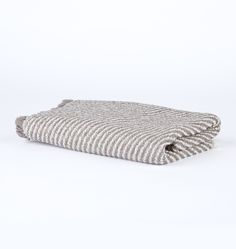 Fringed Stripe Towels - | Rejuvenation
