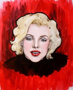Marilyn Monroe Original Painting!