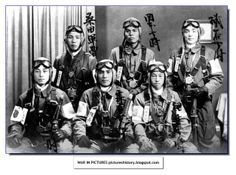 Japanese Kamikaze pilots. (黒ネコ)