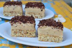 Prajitura cu nuca si crema de ness - CAIETUL CU RETETE Dessert Cake Recipes, Food Cakes, Oreo, Panna Cotta, Deserts, Food And Drink, Pudding, Sweets, Dinner