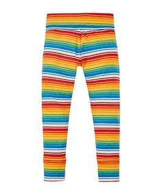 little bird by Jools rainbow stripe leggings