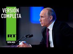 Rueda de prensa de Vladímir Putin (VERSIÓN COMPLETA)