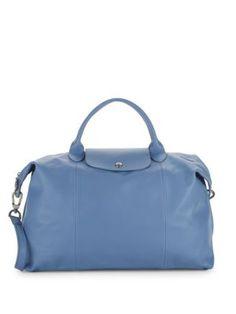 LONGCHAMP Le Pliage Cuir Top Handle Bag.  longchamp  bags  shoulder bags   hand bags  leather   d7baf4475f563