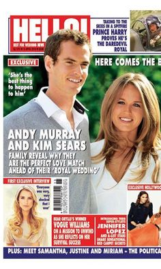 Andy Murray's family speak exclusively to HELLO! ahead of his wedding to Kim Sears