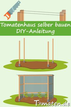 Tomatenanbau Tomatoes also need protection. In our DIY guide, we show how quickly a tomato house is Hydrangea Care, Diy Greenhouse, Gardening For Beginners, Baby Shower, Permaculture, Backyard Landscaping, Diy Tutorial, Outdoor Gardens, Landscape Design