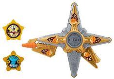 POWER RANGERS NINJA STEEL DELUXE GOLD NINJA BATTLE MORPHER GOLD RANGER HTF Rare