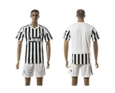 2015-2016 Juventus Home Soccer Jersey