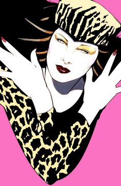 PATRICK NAGEL :: ILLUSTRATION & PRINTS