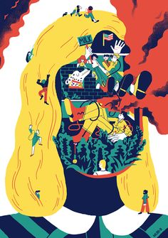 It's Nice That : Win Sarah Mazzetti's brilliant MUBI poster which combines four challenging films