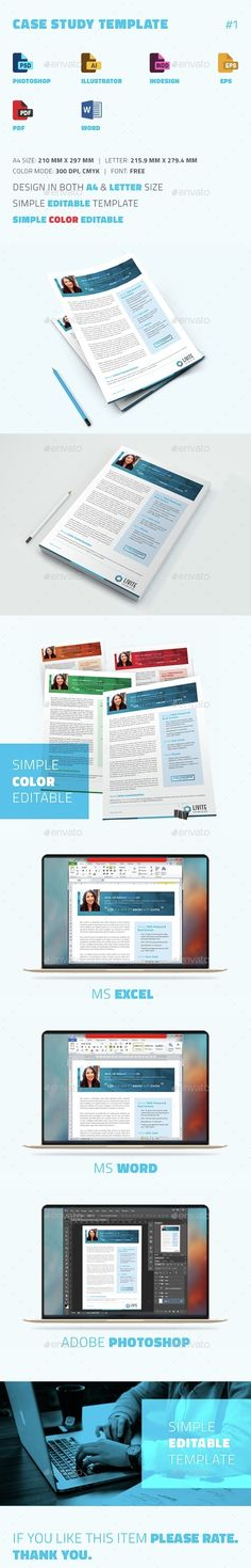 83 best case study templates images on pinterest in 2018 case case study template newsletters print templates download here httpsgraphicriver maxwellsz