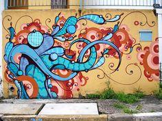Rafael Highraff - Artista urbano que trabalha muito bem a street art