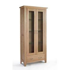 gable shed plans # Oak Display Cabinet, Cabinet Makers, China Cabinet, Tall Cabinet Storage, Light Oak Furniture, Living Room Furniture, Dvd Storage, Storage Spaces, Oak Cupboard