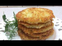 Φτιάξτε τις μοναδικές και απολαυστικές πατατοτηγανίτες - Χρυσές Συνταγές Cypriot Food, Cheese Pies, Dairy Free, Pancakes, Potatoes, Vegetables, Fruit, Breakfast, Recipes