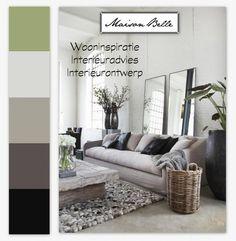 Kleurenpalet grijs-groen | Maison Belle