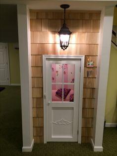 A Little Girls Dream Playhouse Hidden Under The Staircase