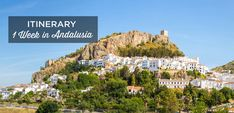 The best itinerary for a week in Andalucia. What to do during your 7 or 8 days trip to Andalusia + Accomodations suggestions + Best tips for 1 week stay. Everything you need to know to plan tour trip to this beautiful region located in the south of Spain. Christmas In Europe, Christmas Travel, Cadiz, Greece Tourism, Alcazar Seville, Andalucia Spain, South Of Spain, Adventure Bucket List, Excursion