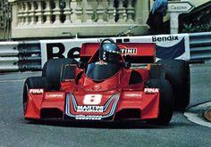 Hans Stuck driving a Brabham at Monaco