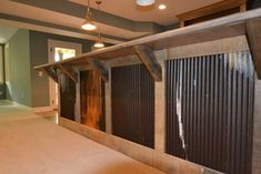 Basement bar- Custom Residence in Westfield #206 - rustic - basement - indianapolis - by Hearth & Stone Builders