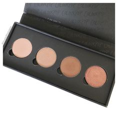 Who has seen the new quad compacts from @colourpopcosmetics ??  Much slimmer and with a mirror included! I will have to pick up some more single shadows and upgrade this little foursome!  This is the Gemini By Night set from the @sonyaesman collab - limited edition unfortunately! These are great neutral shades though and easily replicated!       #makeupinspo #beautycommunity #makeupcollection #flatlayforever #instabeautyau #bbloggersaus #modernmakeup #makeuptips #ausbeautybabes…