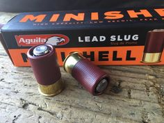 How about shotgun slugs that aren't painful to shoot?