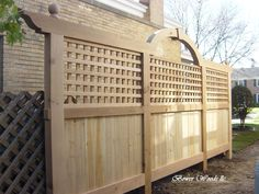 trellis | wonderful to use as screening or simple accents. Trellis also