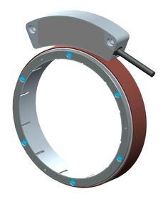 """Rugged, reliable, likable SMRA is the absolute #bearingless #encoder designed for unlimited trouble-free operation in large diameter  shafts. Ideal for unconventional installations.  - Round design for shafts up to 200 mm; - Shallow and """"self-fixing"""" magnetic ring; - 14-bit resolution via SSI and BiSS-C interfaces; - IP68 protection rate. Read more at http://www.lika.it/eng/file.php?id_file=314 #Lika"""