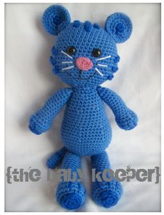 amigurumi TIGEY Tiger inspired by Daniel Tiger's by thebabykeeper...maybe for when I have time to crochet again