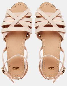 Image 3 - ASOS - FIFI - Sandales tressées en cuir