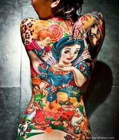 Amazing Colorful Tattoo Designs