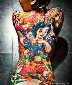 Amazing Colorful Tattoo Designs