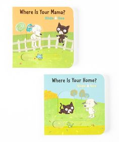 Take a look at this Slide & See Board Book Set by Nationwide on #zulily today!