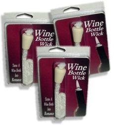 Wine BottleWick Makes A Wine Bottle Oil Lamp | The Best Wine Bottle Lamp Kit