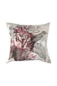 PRINTED FRUIT BIRDS 45X45CM SCATTER CUSHION COVER 2 PACK