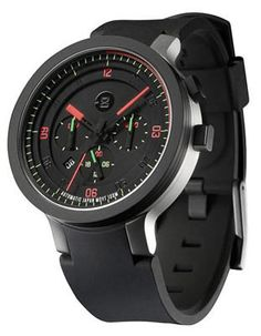 709649de8a5 Minus 8 Mens Layer 24 Black - Automatic - Silicone Strap - Date