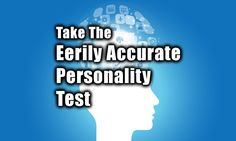 Wow, this is really cool. I got the Personality type, the Counselor. Over 100 questions and great results. Professional test!