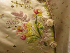 Image result for embroidered georgian waistcoat