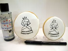Stamped sugar cookies...I would NEVER have thought of this!