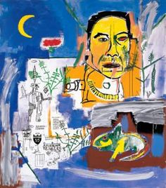 Raw Fish, 1984 Jean-Michel Basquiat