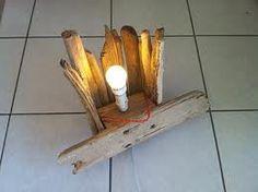 Lampe bois flotte _mod3_ | Luminaire | Pinterest