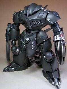 1/100 Z'Gok Outer Space Custom - Custom Build   Modeled by Masamune   Images via pointnet.com.hk