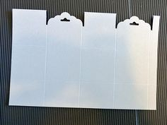 Stampin Along With Heidi: Scallop Tag Topper Punch - the closing box