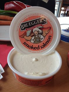 The Food Hussy!: Behind the Scenes at Brueggers Bagels  blogger cincinnati dining restaurant bakery cream cheese