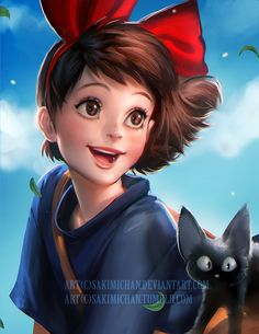 kiki ! I watched the movie yesterday was inspired to draw her ! PSD High res Video process available ► http://www.patreon.com/creation?hid=1331146&rf=371321 ◄ Help support me on patreon have get...