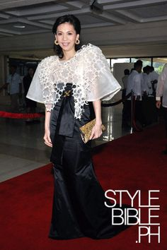 Modern Filipiniana.