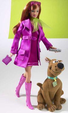 Scooby Doo Daphne Barbie Doll