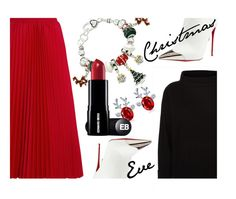 """Christmas Eve'"" by dianefantasy ❤ liked on Polyvore featuring Balenciaga, Jaeger and Christian Louboutin"