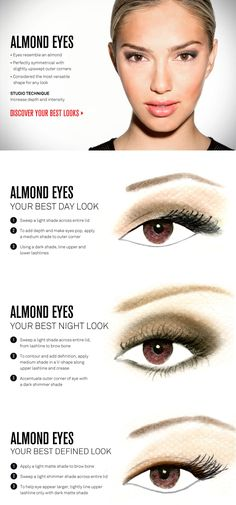 eyeliner for almond eyes Almond Shaped Eyes and how to Line Them To Make Them Look Different for Different Styles amp; Eye Shape Makeup, Asian Eye Makeup, Eye Makeup Tips, Smokey Eye Makeup, Skin Makeup, Makeup Ideas, Eyeshadow Ideas, Makeup Tutorials, Makeup Pics
