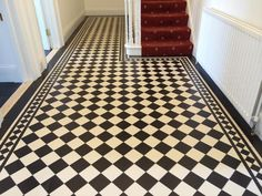 Tile shop in Derby supplying slate, marble, mosaic, porecelain, terracotta and victorian tiles for bathrooms and kitchens Victorian Hallway Tiles, Tiled Hallway, Front Hallway, Hallway Inspiration, Hallway Ideas, Hall Flooring, Kitchen Tiles Design, Vintage Tile, Lean To