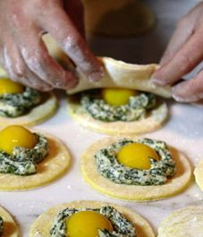 This ravioli recipe takes a little skill but is well worth the effort. Ingredients Swiss chard filling: 2 pounds Swiss chard or fresh spinach, stemmed 1 pound whole-milk ricotta, such as Bellwether Farms, drained for 30 minutes in a cheesecloth-lined colander 1/2 teaspoon freshly grated nutmeg 1/2 teaspoon sea salt, preferably gray salt, or kosher…