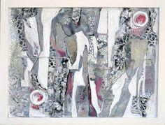 "Saatchi Art Artist Lorry Bentham; Collage, ""Quintessence"" #art"